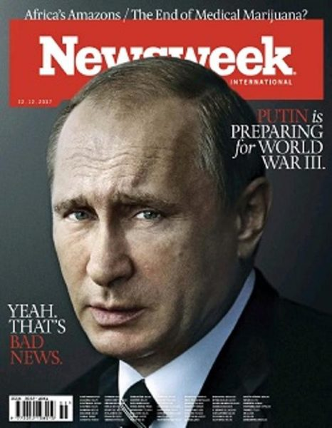 Newsweek International  22 December 2017