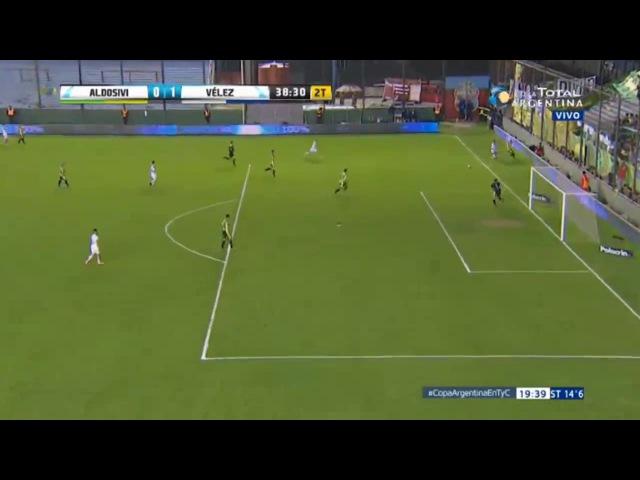 Gol de Federico Andrada, Vélez vs Aldosivi 1-0 ( Copa Argentina 2017)