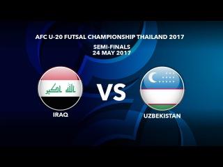 #AFCU20FC THAILAND 2017 - M51 SF2 IRAQ vs UZBEKISTAN - Video News