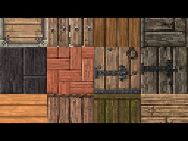 майнкрафт с деревяннымт текстурами #9