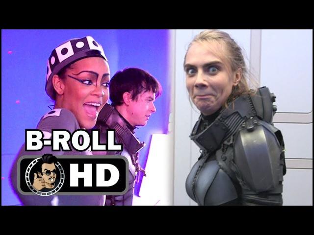 👾 😆 VALERIAN Official B Roll Bloopers Gag Reel 2017 Cara Delevingne Rihanna Sci Fi Movie HD