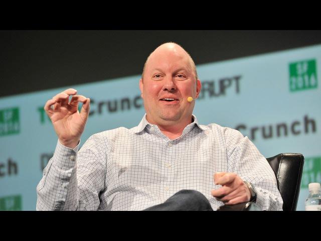 Goals vs Tactics with a16z's Marc Andreessen at Disrupt SF