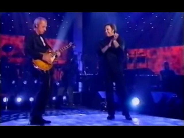 Tom Jones Mark Knopfler on 'One Night Only' UK TV special 1996