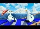 Эскимоска 3 сезон | Спасение китенка (3 серия) | Мультик про северный полюс