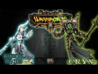 Warmachine & Hordes - Retribution of Scyrah (Helynna) vs. Cryx (Asphyxious 1) - 75pt Battle Report