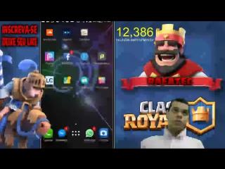 Clash Royale » 2V2  com a galera!  Baú da Coroa é nosso!