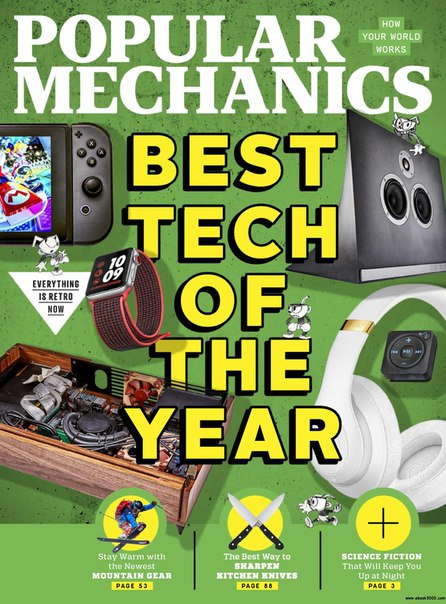 Popular Mechanics USA-January 2018