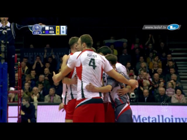 CLVolleyM - Playoff 12 Leg 1 - Belogorie BELGOROD vs Zaksa KĘDZIERZYN-KOŹLE