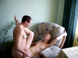 Blonde wife homemade video with creampie