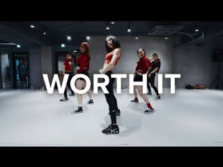 1Million dance studio Worth it - Fifth Harmony (ft. Kid Ink) / May J Lee Choreography