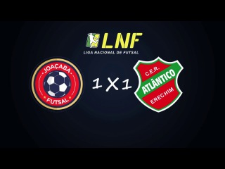 LNF2017 - Oitavas - Ida - Gols - Joaçaba 1 x 1 Atlântico