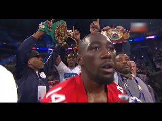 Победа за 4 пояса терренс кроуфорд джулиус индонго бокс