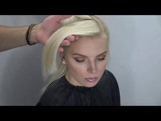Braiding and twisting techniques! unique hairstyle! Farrukh Shamuratov