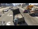 GTA ONLINE - Угарнули с погрузчиком до слез! 361