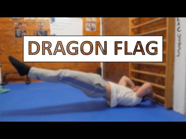 DRAGON FLAG Learn Your First Dragon Flag PROGRESSIONS