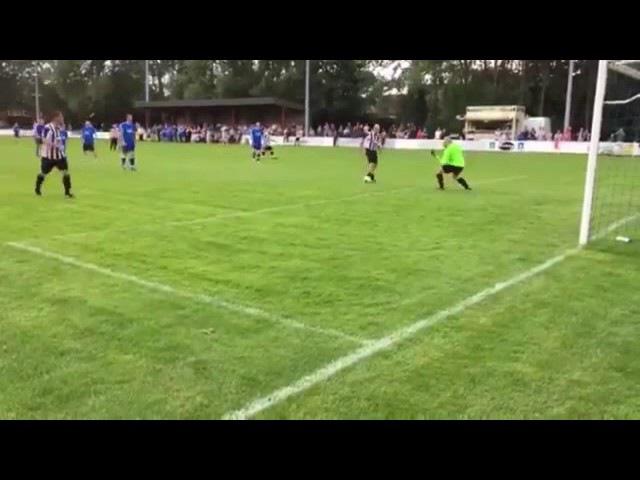 Paul Gascoigne Scores Hilarious Nutmeg Goal In Charity Match - 09072017