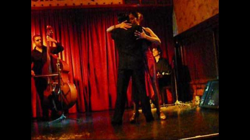 Argentina Buenos Aires Cafe Tortoni Tango Show Ennio 2009