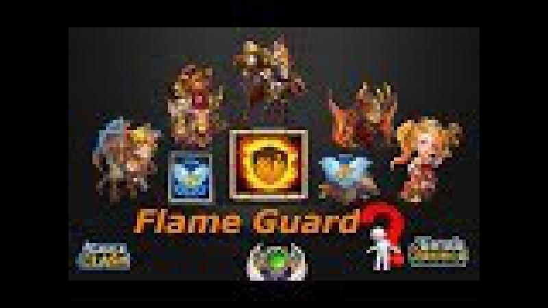 ТАЛАНТ ОГНЕННАЯ ЗАЩИТА Castle Clash Битва замков TALENT Flame Guard