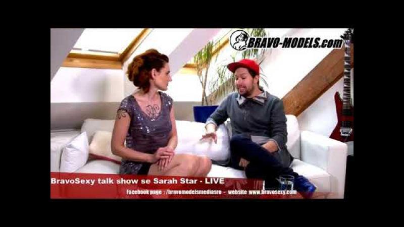 BravoSexy talk show 08 2018 se Sarah Star guest JAN KRATOCHVIL STACEY LIN GOLD Travesti umelec