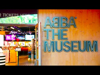 Sweden . Abba The Museum