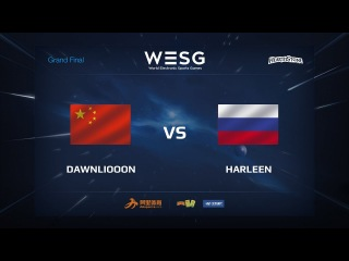 DawnLiooon vs harleen, WESG 2017 Grand Final Hearthstone Female