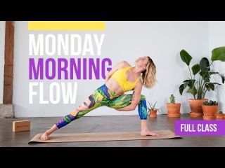 40-Minute Monday Morning Yoga Flow | Full Class