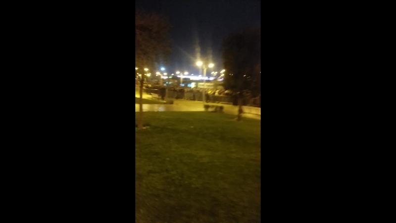 22 ноябр . Бакински метро после футболная игра . ( челси - гарабах )