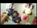 앙금플라워 클레마티스 장미 퐁퐁국화 Clematis Rose pompon beanpaste flower piping