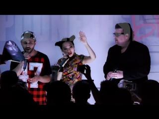ЯН ГЭ - UNDERHEAVEN l PODNEBESES LIVE 2016 (Paparules, Фарид)...