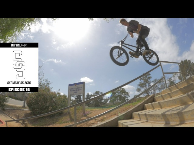 Travis Hughes Welcome To Pro Raw BTS Footy Ep 16 Kink BMX Saturday Selects