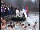 Krst u rukama ruskinje