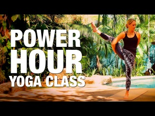 Erin Sampson - Power Hour Yoga Class
