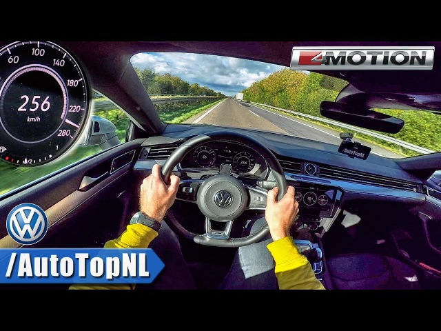 VW Arteon 2 0 TSI 280HP AUTOBAHN POV ACCELERATION TOP SPEED by AutoTopNL
