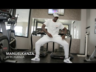 How I train myself | Afro house music | Manuel Kanza  at gym