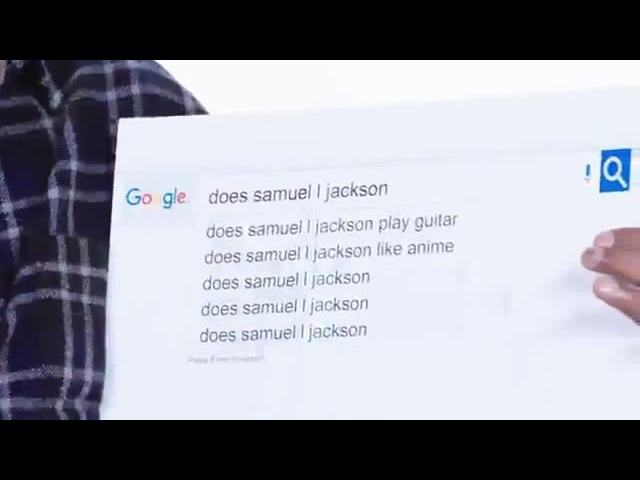 Самуэль Джексон любит аниме да хентай тоже ахааах