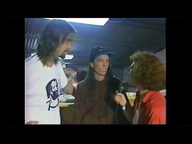 Nirvana interview February 22nd 1992 Pink's Garage Honolulu Krist Novoselic Dave Grohl