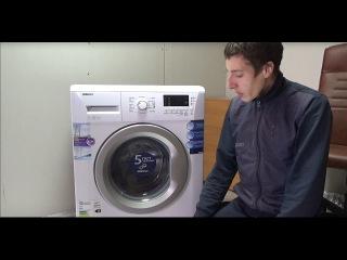 Как разобрать стиральную машину BEKO подготовка к замене подшипников!