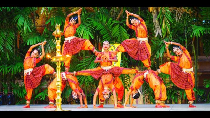 Gotipua Dance SPIC MACAY VIRASAT 2014 Tamilnadu