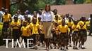 Melania Trump Dances With Children At Kenyan Orphanage On Africa Tour | TIME