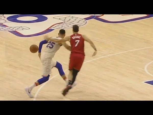 Ben Simmons Gets Slapped By Goran Dragic On The Head! Sixers vs Heat