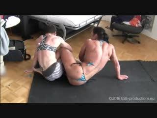 Renata hronova female muscle wrestling fbb perfect body