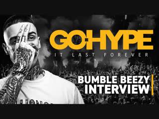 Интервью bumble beezy после концерта в москве.