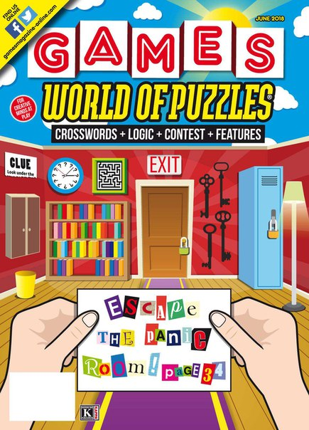 Games World of Puzzles-June 2018
