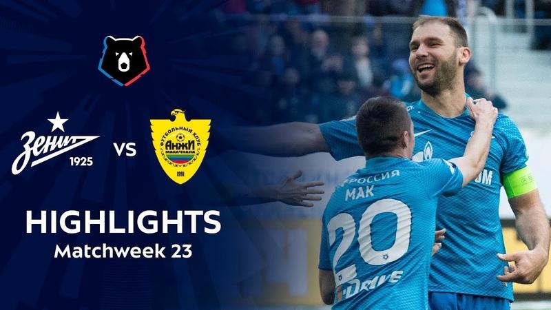 Highlights Zenit vs Anzhi 5 0
