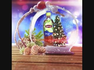 Волшебство с lipton ice tea