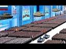 Kekuatan Militer Rusia yang Dihormati Disegani Negara-Negara Besar Dunia, Pada Parade Militer