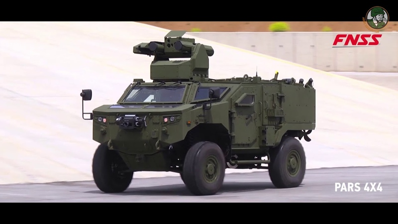 Eurosatory 2018 FNSS from Turkey launches Anti Tank variant of its PARS 4x4 armoured vehicle