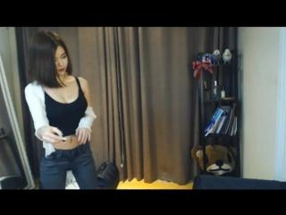 Korean bj 2 webcam sexy dance танец сексуальной корейской девушки