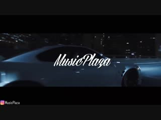 Night car music gangster rap trap bass cruising