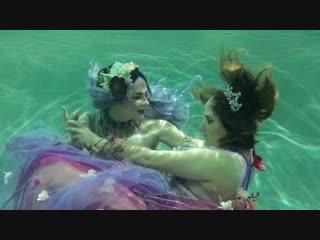 Wishing on the star - underwater photo shoot